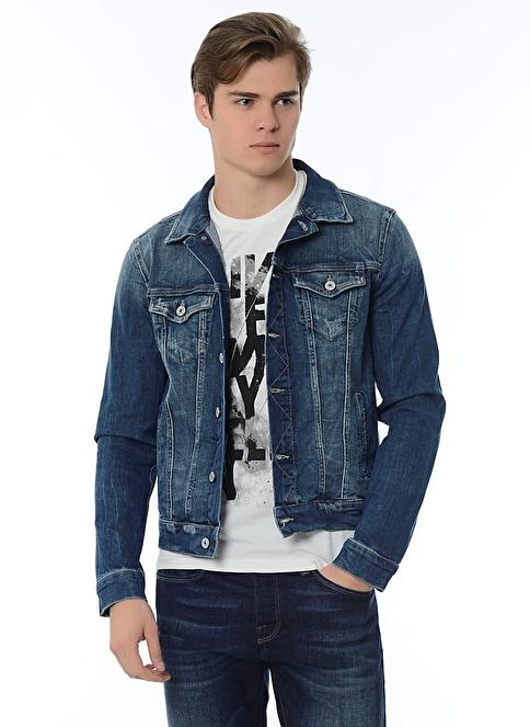 Mavi Erkek Jean Ceket Frank Açık Kullanılmış Yaletown Morhipo